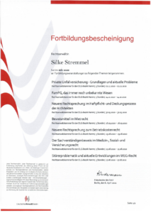 Fortbildung Silke Stremmel DAV 2020 Teil 1